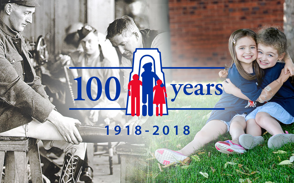 Celebrating 100 Years! Our programs have grown from assisting war amputees – whom we still serve - to all amputees, including children.
